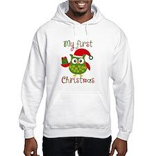 My First Christmas Owl Hoodie