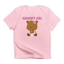 Memaw's Girl Teddy Bear Infant T-Shirt