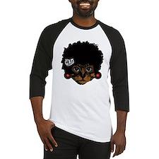 Cat Afro Baseball Jersey