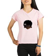 Cat Afro Peformance Dry T-Shirt