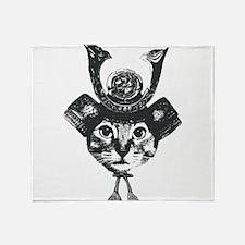 Shogun Cat Throw Blanket