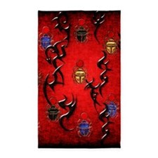 Red Scarab World 3'x5' Area Rug