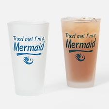 Trust Me Im A Mermaid Drinking Glass