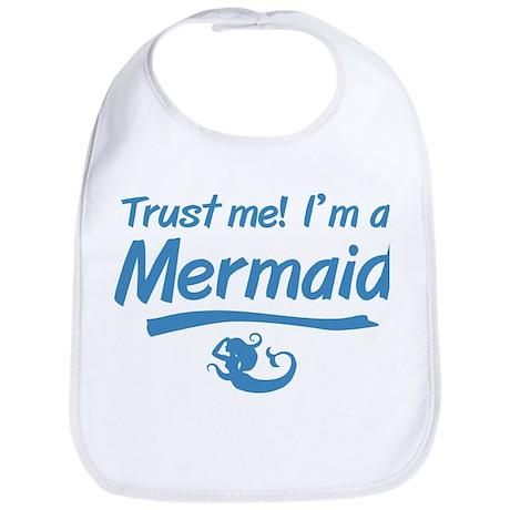 Trust Me Im A Mermaid Bib