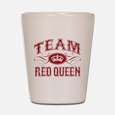 Team Red Queen Shot Glass