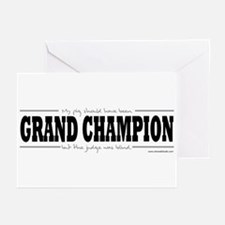 Grand Champion Pig Greeting Cards (Pk of 10)