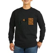 Plug and Electrical Outlet Long Sleeve T-Shirt