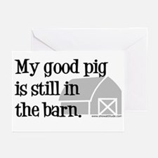 My Good Pig Greeting Cards (Pk of 10)