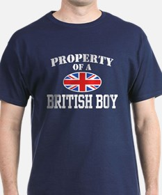 Property of a British Boy T-Shirt