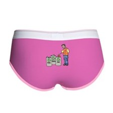 Recycling Trash Cans Women's Boy Brief
