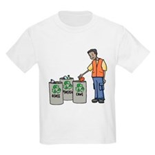 Recycling Trash Cans T-Shirt