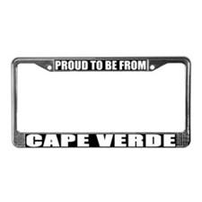 Cape Verde License Plate Frame
