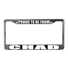 Chad License Plate Frame