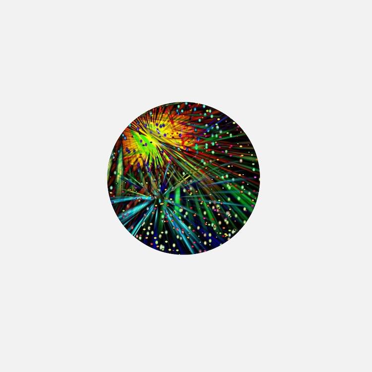 Fireworks Galore Mini Button
