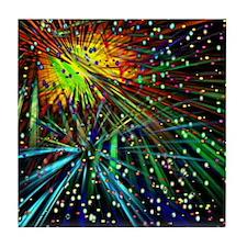 Fireworks Galore Tile Coaster