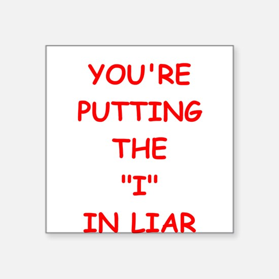 liar Sticker