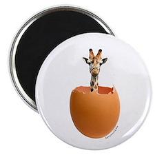 """Giraffe Egg 2.25"""" Magnet (10 pack)"""