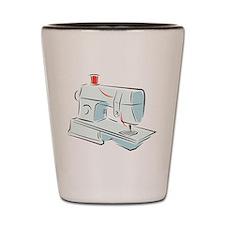 Sewing Machine Shot Glass