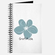 Gratitude floral Journal