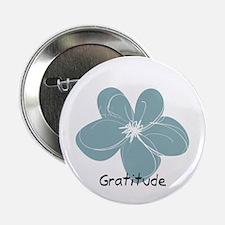 Gratitude Floral 2.25&Quot; Button