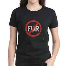 Ladies No Fur T-Shirt