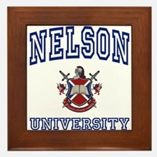 NELSON University Framed Tile