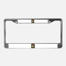 License Plate Frame window