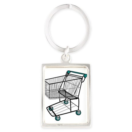 Shopping Cart Keychains