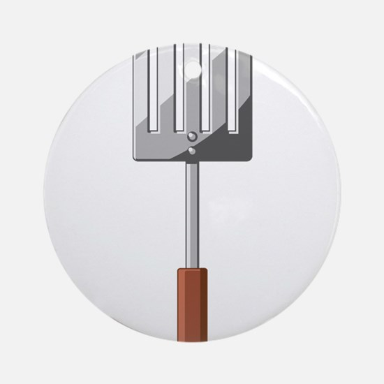 Cooking Spatula Ornament (Round)