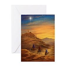 422 Three Wise Men d Greeting Card