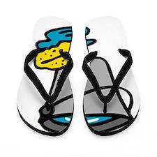 Bucket and Sponge Flip Flops