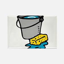 Bucket and Sponge Magnets