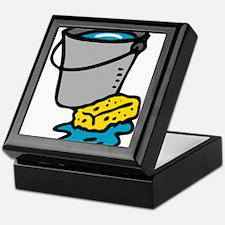 Bucket and Sponge Keepsake Box