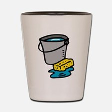 Bucket and Sponge Shot Glass