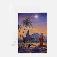 528 Mary & Joseph d Greeting Card
