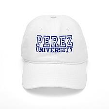 PEREZ University Cap