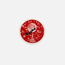 Santa Claus is Coming to Town  Mini Button
