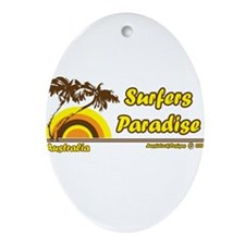 surfersparadise.png Ornament (Oval)