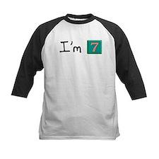I'm seven (block) Tee