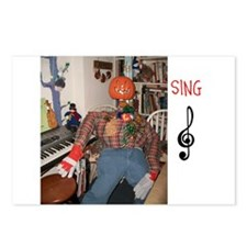 SING, MR. PUMPKIN DEPOT. Postcards (Package of 8)