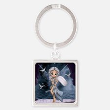 "Aphrodite ""Goddess of Love and Bea Square Keychain"