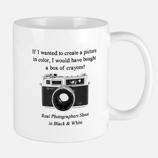 Black And White Photographer Mugs