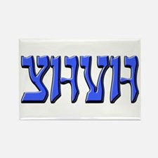 YHVH Rectangle Magnet