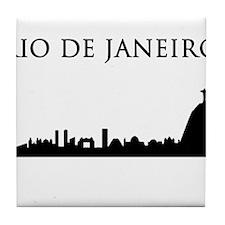 Rio De Janeiro Tile Coaster