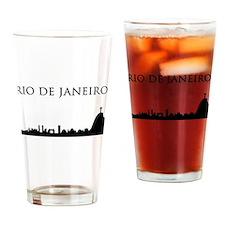Rio De Janeiro Drinking Glass