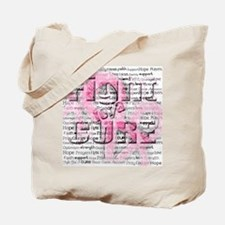 Cute Fight for a cure Tote Bag