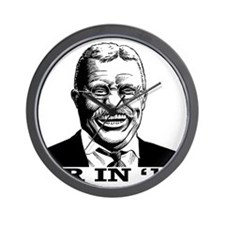 Theodore Roosevelt for President Wall Clock