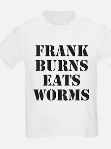 Frank Burns Eats Worms Kids T-Shirt