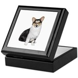 Welsh corgi Keepsake Boxes