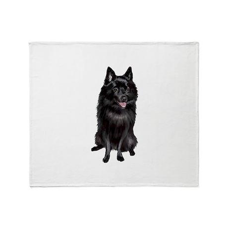 Schipperke (A) Throw Blanket